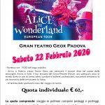 Padova Musical Alice Wonderland